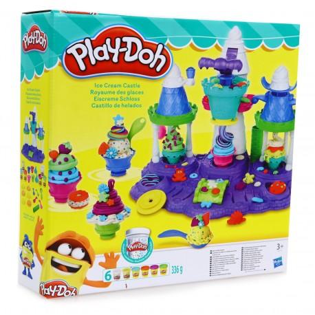 Play-Doh  LODOWY ZAMEK LODZIARNIA CIASTOLINA B5523