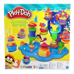 Play-Doh Ciastolina CIASTKARNIA Babeczki 5 KUBKÓW!