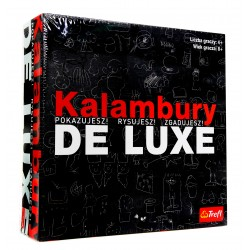 Gra rodzinna towarzyska KALAMBURY DE LUXE Trefl
