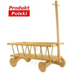 Wózek drabiniasty, taczka, jeździk, Wóz drewniany
