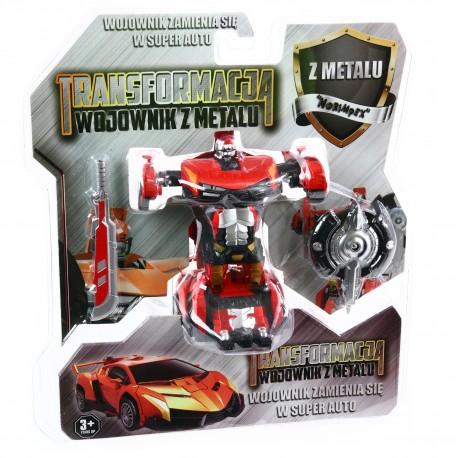 METAL Robot Transformowalny METALOWY ! Auto  2w1