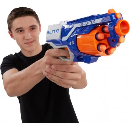 HASBRO NERF Pistolet WYRZUTNIA STRZAŁKI 6szt Elite