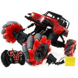Jeep CRAWLER 4x4 RADIO, PROGRAMOWANY AKU 4 silniki