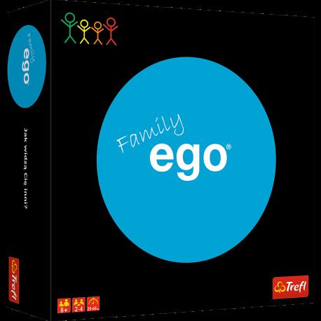 Gra rodzinna towarzyska EGO FAMILY Trefl ORYGINAŁ