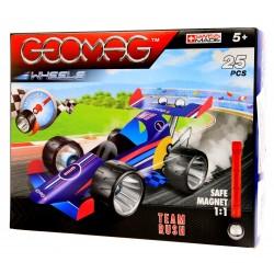 GEOMAG Wheels Klocki MAGNETYCZNE Rush Team 25 el.