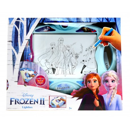Disney Frozen PODŚWIETLANA TABLICA Kraina Lodu 2