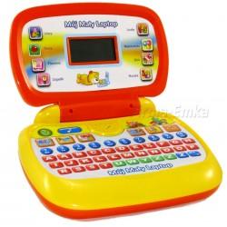 Komputerek edukacyjny MÓJ MAŁY LAPTOP dla dzieci