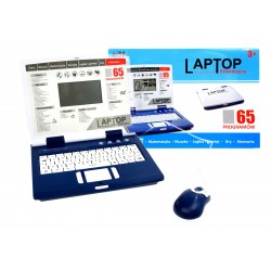 Komputerek Laptop edukacyjny dla dzieci 65prog USB