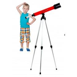 Edukacyjny TELESKOP LUNETA + STATYW dla dzieci x60